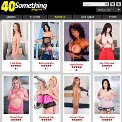 40 Something Mag members area previews