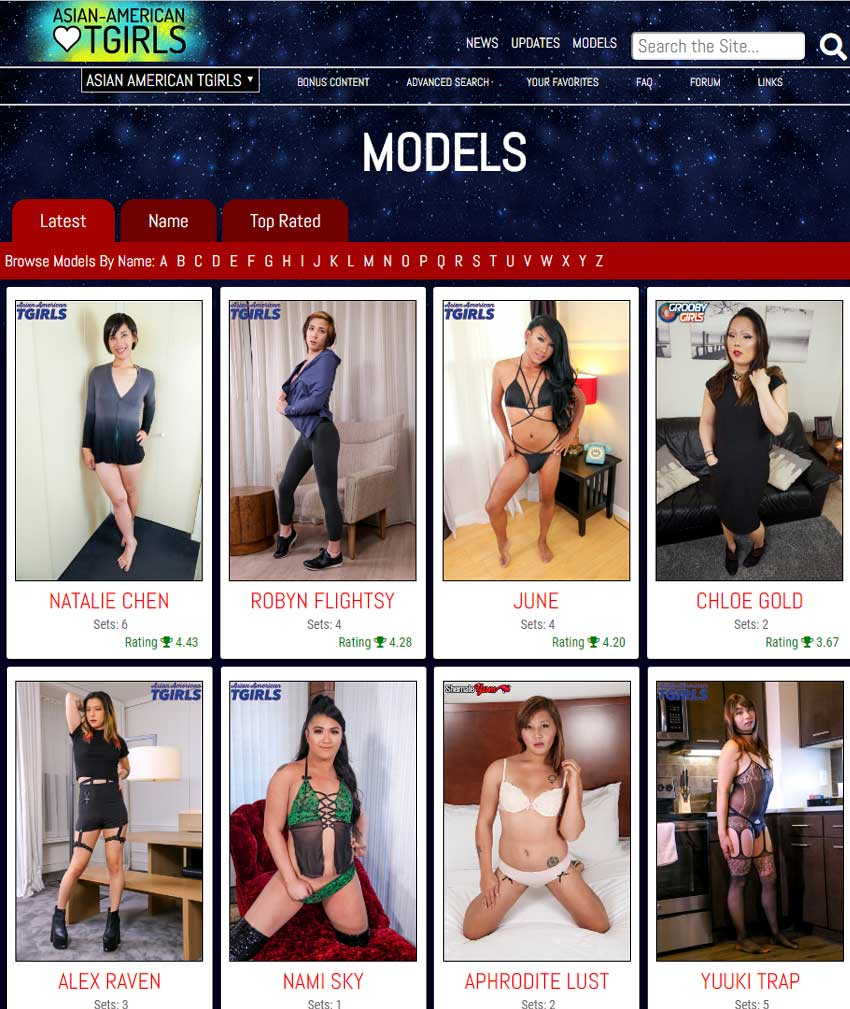 American Tgirls Porn asian american tgirls members area screen caps