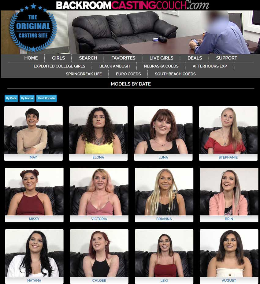 Couch backroom girls casting IamA former