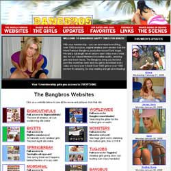 Bangbros Network members area previews