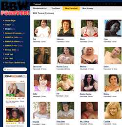 BBW Forever members area previews