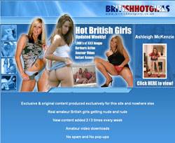 British Hot Girls members area previews