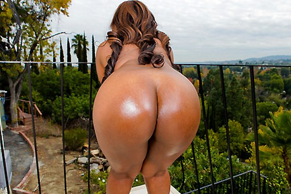 Big Black Asses Courtesy of Brown Bunnies