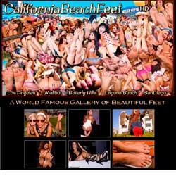 California Beach Feet members area previews