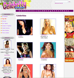 Celebrity Worship members area previews