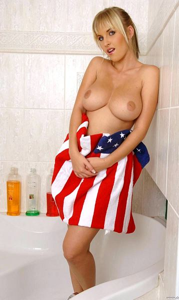 Raise Your Flag To Some Big Tits