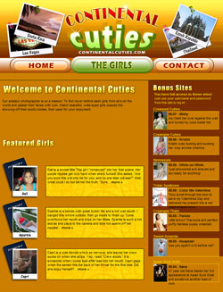 Read Continental Cuties review