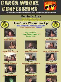 Confessions crackwhore Crack Whore