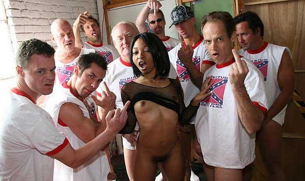 Interracial Porn Twisted By CumBang