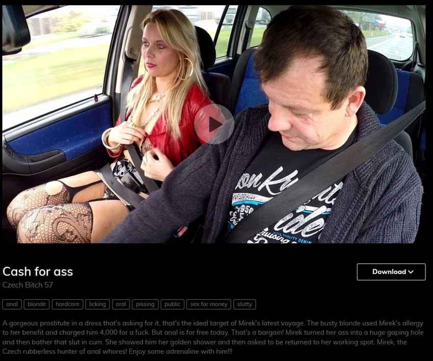 czech bitch porn