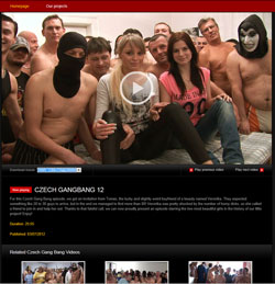 Read Czech Gangbang review
