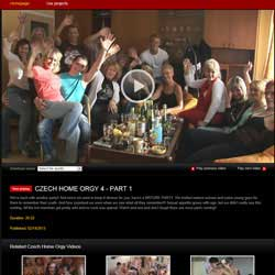 Read Czech Home Orgy review