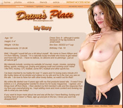 Dawns Place members area previews