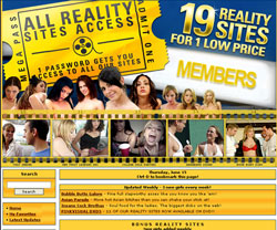 Discount Reality Sites members area previews