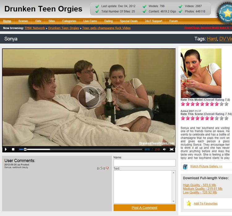 Druken Teen Orgies 8