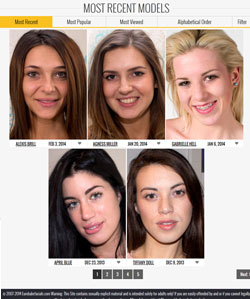 Eurobabe Facials members area previews