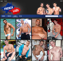 French Lads members area previews