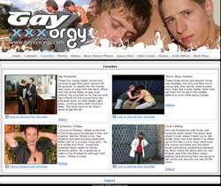Read Gay XXX Orgy review
