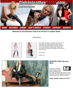 Read Girls In Leather Boots review
