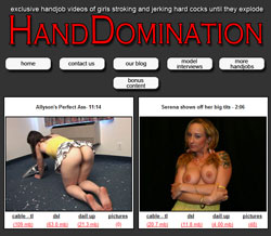 Hand Domination members area previews