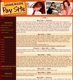 Read Homemade Paysite review