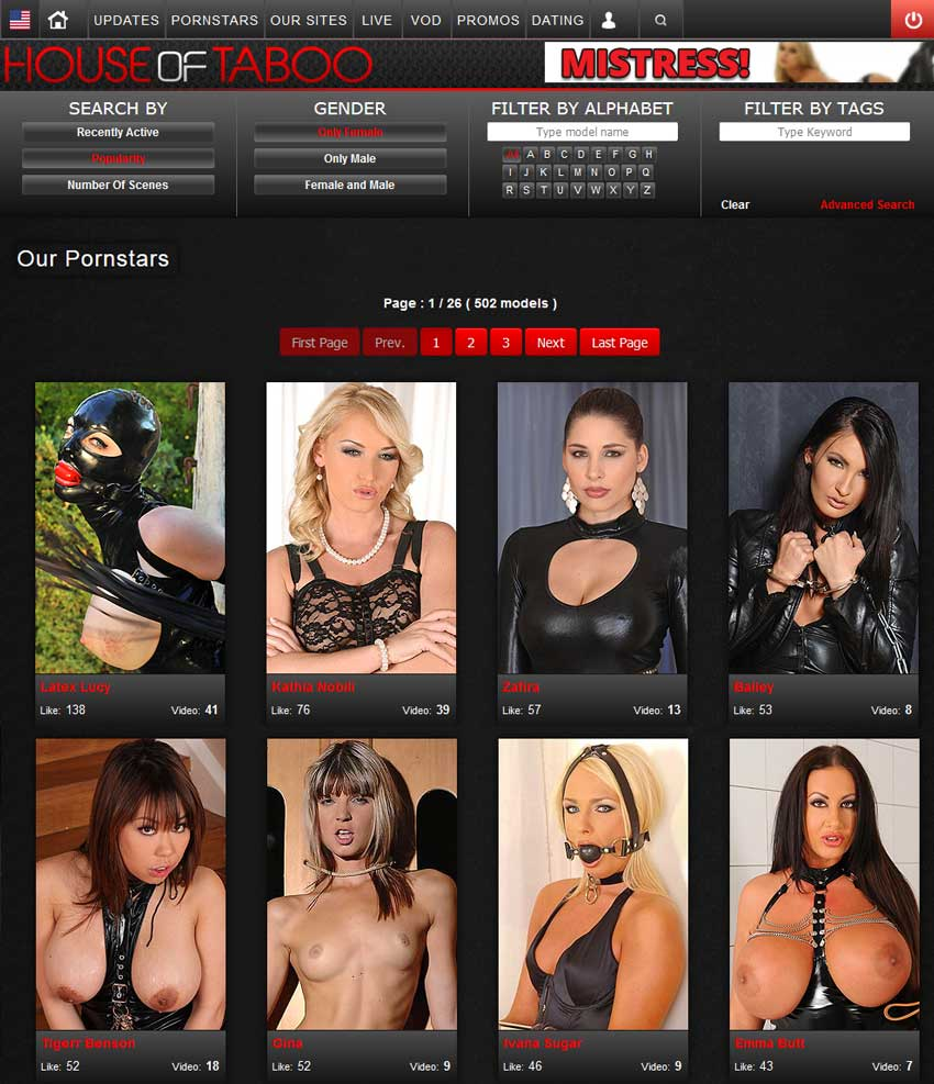 A House Visit Porn house of taboo members area screen caps