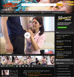 Japanese Matures members area previews