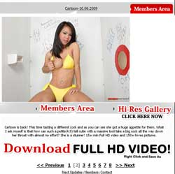 Ladyboy Gloryhole members area previews