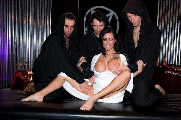 The Hottest Goth Pornstars