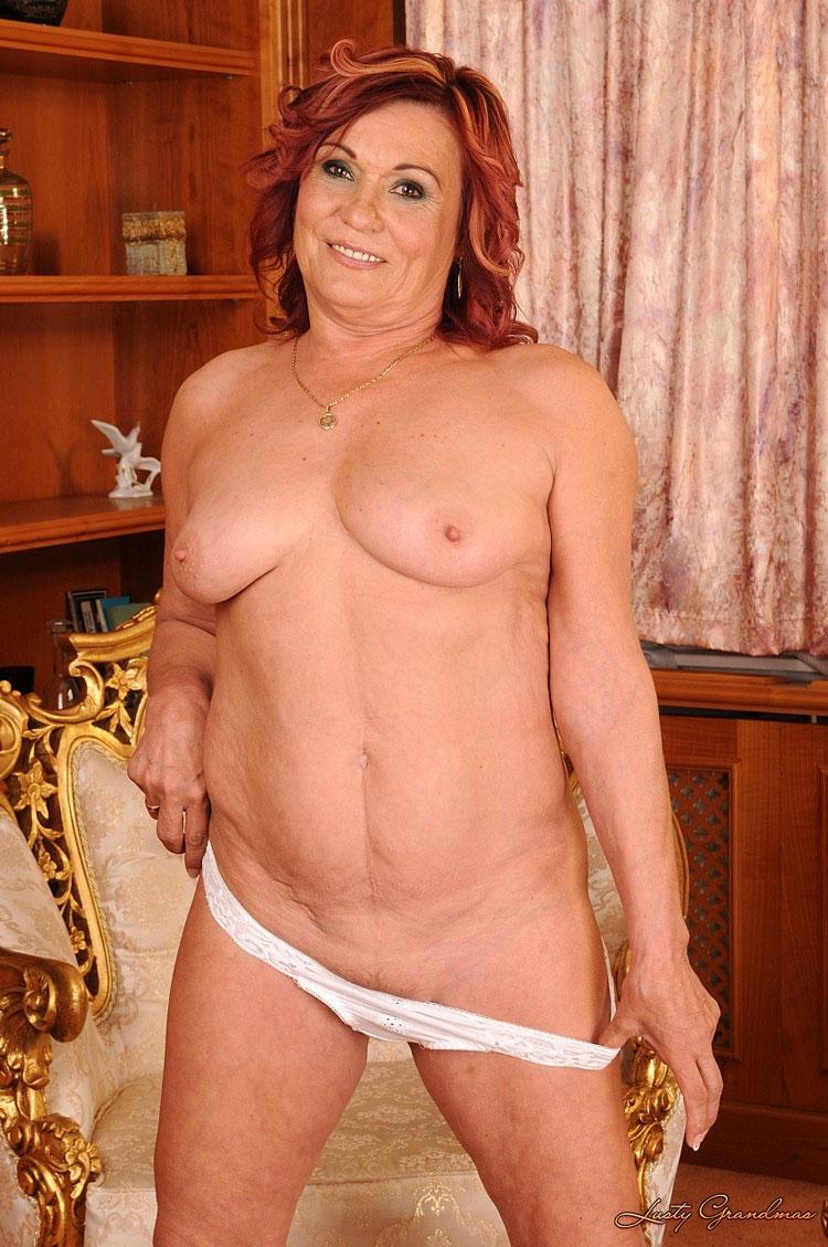 Lusty grandmas porn