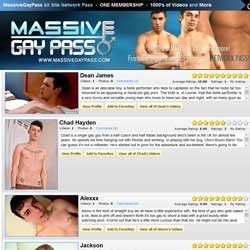 Massive Gay Pass members area previews