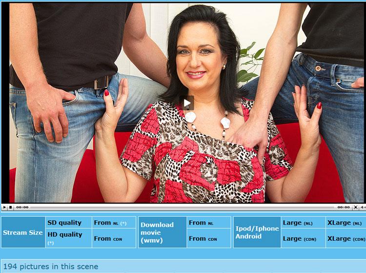 Mature woman porn movie