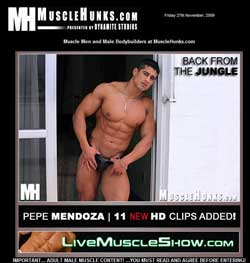 Read Muscle Hunks review