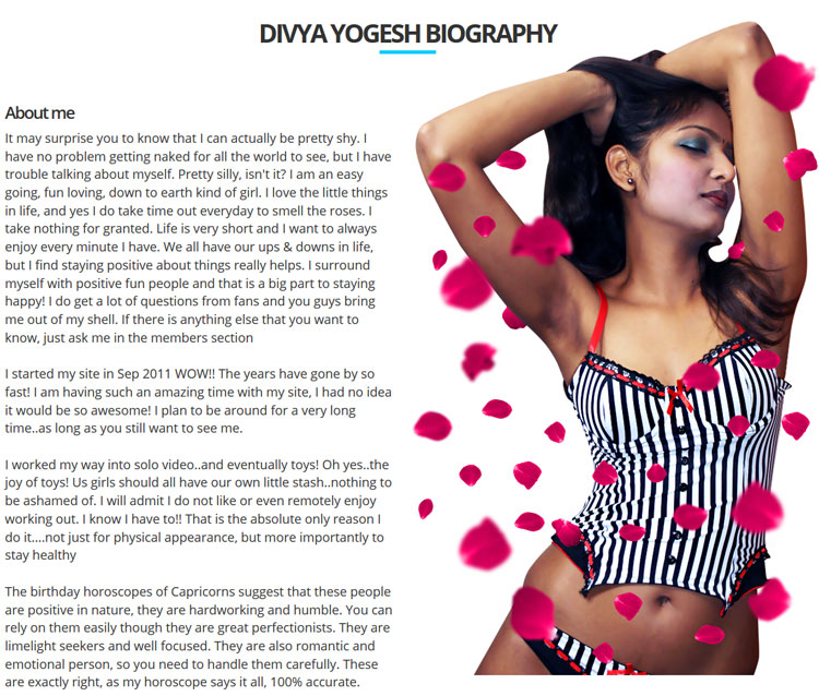 Join My Sexy Divya now