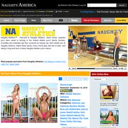 Naughty Athletics members area previews