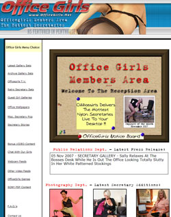 Office Girls members area previews