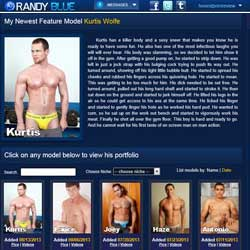 Randy Blue members area previews
