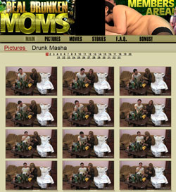 Real Drunken Moms members area previews