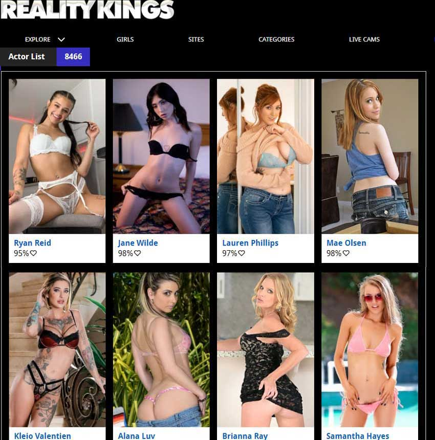 Join Reality Kings now