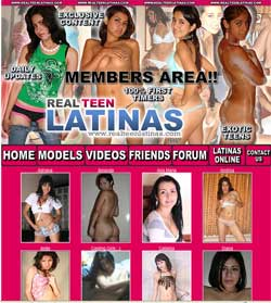 Real Teen Latinas members area previews