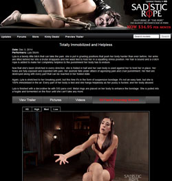 Read Sadistic Rope review