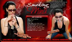 Read Smoking Mina review