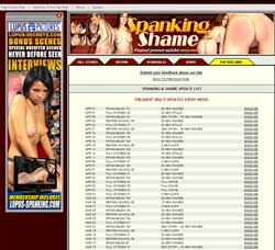 Spanking and Shame members area previews