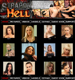 Strapon Hell members area previews