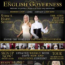 The English Governess members area previews