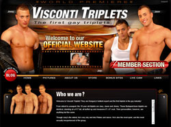 Visconti Triplets members area previews