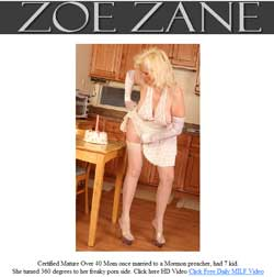 Zoe Zane members area previews